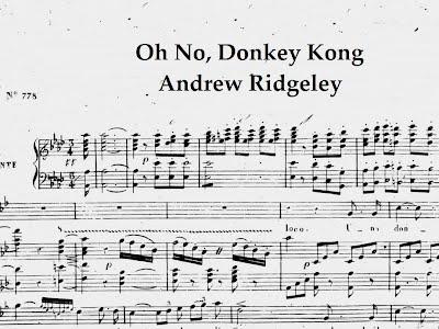 Andrew Ridgeley Oh No Donkey Kong