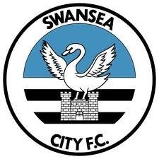 Swansea City Football Club Logo - An enormous swan destroys a UNESCO heritage site.