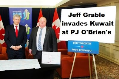 Rob Ford and Stephen Harper Introduce Jeff Grable